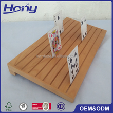 Different Types of Varnish Cheap Price Wooden Display Board with Custom Grooves