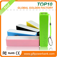 High Quality Fast Phone Charger Perfume Powerbank USB 2600mAh Power Bank for Digital Products