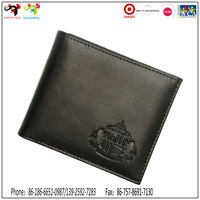 Top 10 brands special handmade genuine leather men wallets for promotion