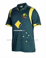 Healong dye sublimation Cricket Team Jersey make your own