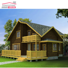 Beautiful prefab house designs,wooden house/villa/log cabin