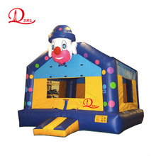 Professional design 0.55mm PVC commercial air bouncer inflatable Clown trampoline