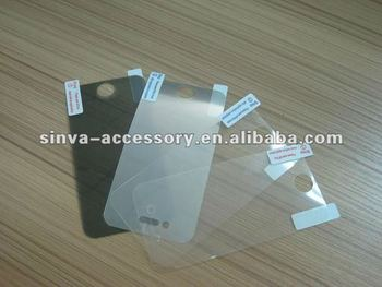 HOT SALES ultrathin screen protector for iPhone4/4s