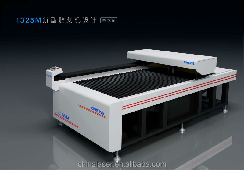 Popular CO2 laser souce Cnc laser cutting machine for nonmetal  and metal materials