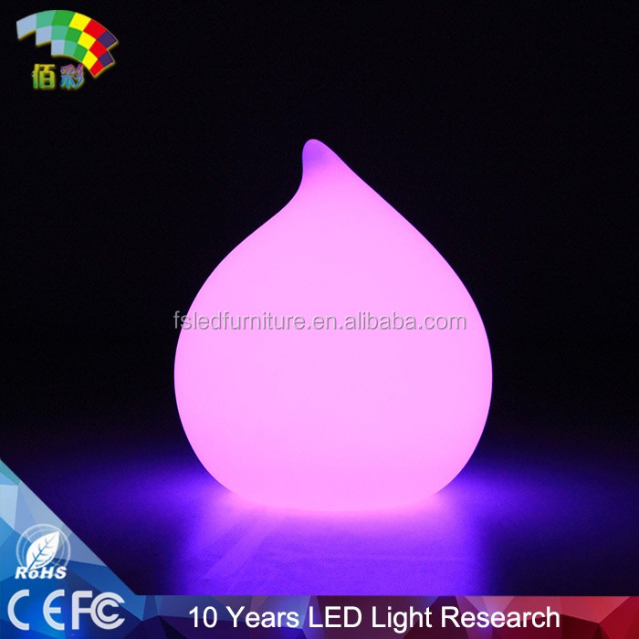 Fantastic nice rechargeable illuminated LED plastic ball light / outdoor LED lighted