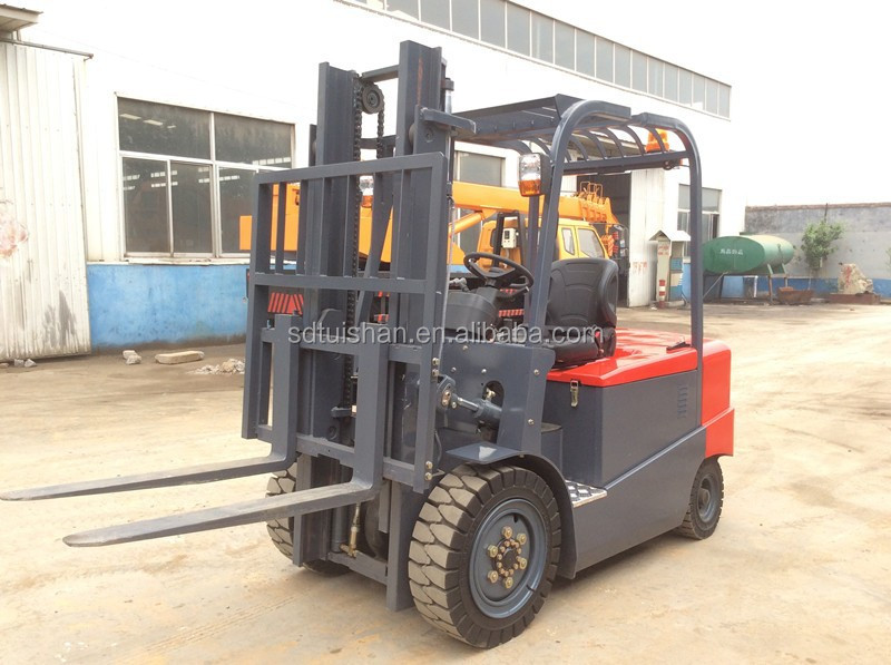 China Brand New Electric Forklift Truck 3Ton For Industrial