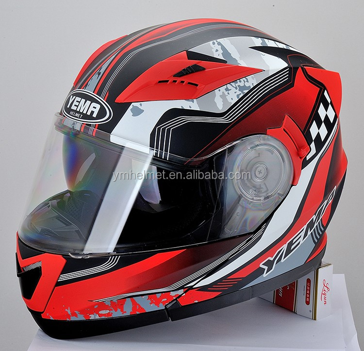 YM-925 flip up motorcycle helmet with DOT certification casco