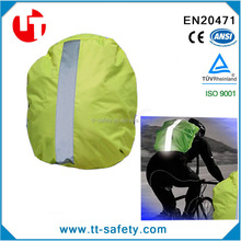 high visibility reflective safety fluorescent backpack cover