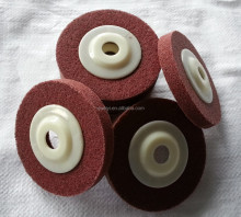 Non woven abrasive grinding wheel, polishing disc