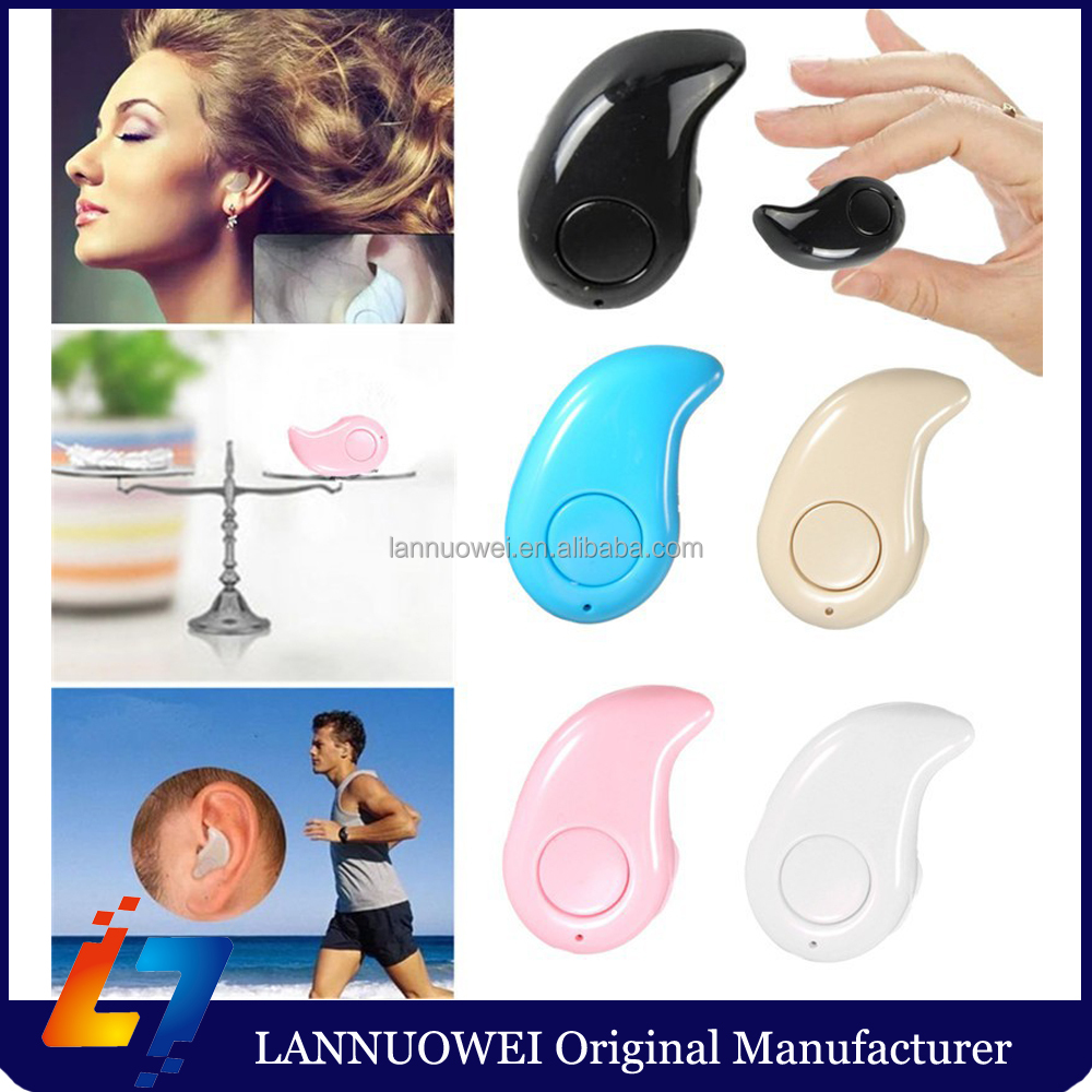 Top sell Mini Wireless Bluetooth headphone S530 In Ear Headsets Sport earphone Earbuds for Universal smart phone