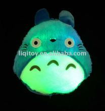 Cute animal shape cushion with LED light