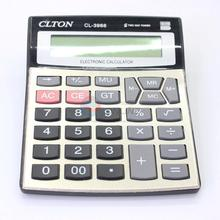 12 digits cashier calculator desktop electronic calculator