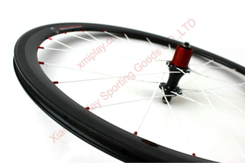 In stock 700c carbon wheelset CCC38C clincher cheap carbon wheels