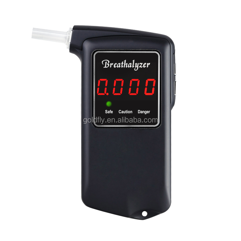 2017 New High Precision Fuel Cell Sensor Breathalyzer/Alcohol Tester with White Back Light/Alcometer with 5 Optional Units