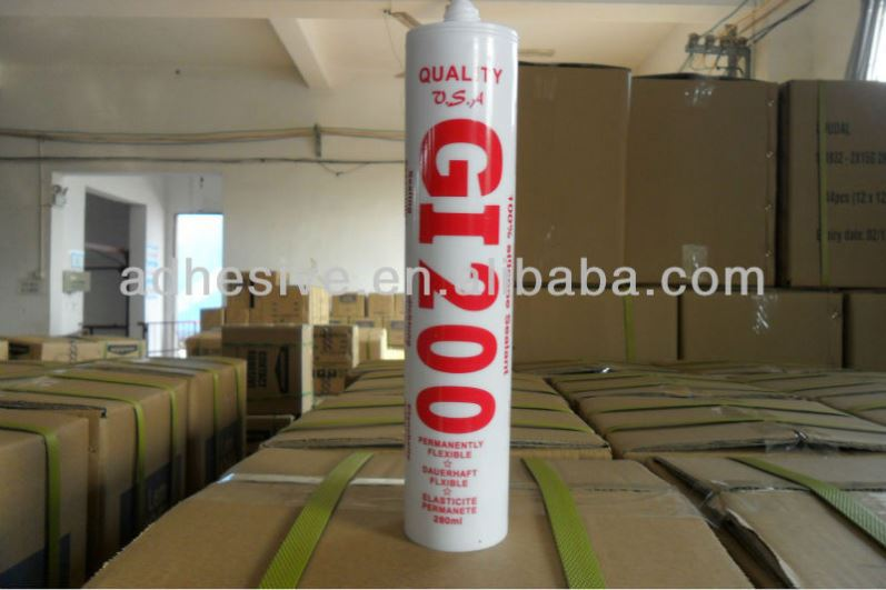 Strong Bonding Tyre Puncture Concrete Silicone Sealant
