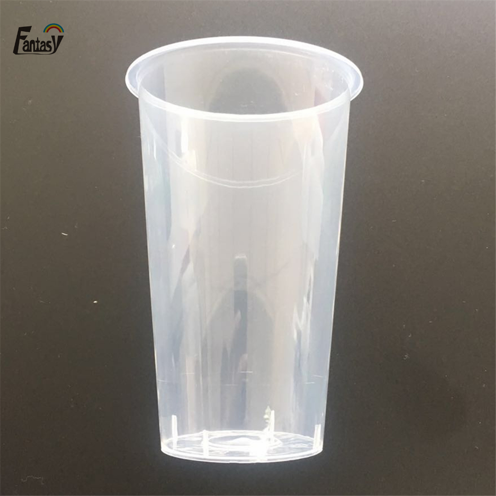 16 oz custom brand logo hard plastic PP <strong>cup</strong> for Fruit juice