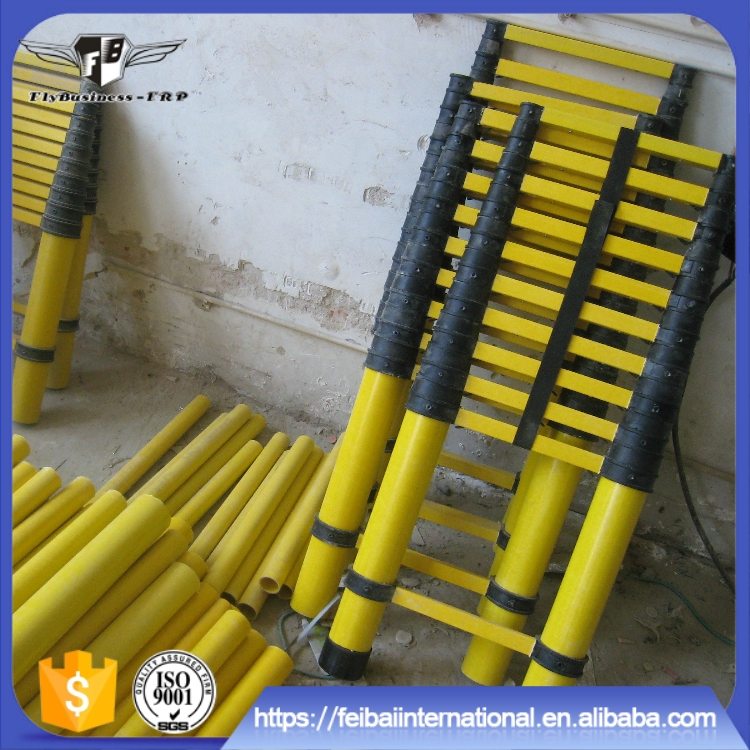 Corrosion resistant anti-aging long service life cheap telescopic ladders