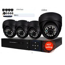 1080p SUPER HIGH DEFINITION 4 Channel Network Video Recorder with 4 IP Infrared Vandal Proof Dome Camera