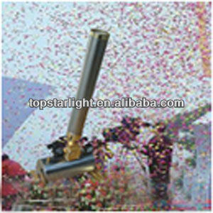 Wedding/Party Paper Confetti Machine/ Stage effect light equipment/China professional supplier
