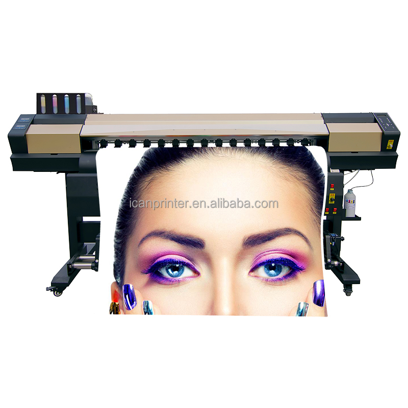ICAN-1930Q uv roll to roll printer machine digital inkjet carton power supply system and heating system