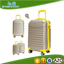 Plastic transparent suitcase luggage scooter luggage