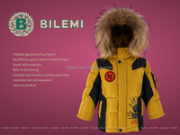 Children's clothing suit for winter