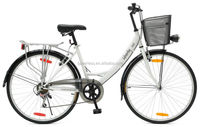 "HOT SALE, CHEAP 26"" 6 SPEED CITY BICYCLE"