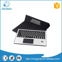 Portable wireless tablet pc bluetooth keyboard aluminum case
