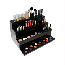 Acrylic Material Makeup Mac Cosmetic Display Stand Cosmetic Display Stand