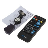 Hot Selling Wireless Controller PC Computer Remote Controller Media Center fly Mouse & USB Receiver For Windows 7 XP VISTA