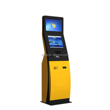 Mobile Top Up Kiosk With 17 Inch Touch Screen, Kiosk Banknote Acceptor, And Interactive Totems