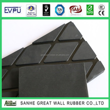 8-15mm Thickness Good Quality Diamond Conveyor Pulley Slide Lagging Rubber Sheet