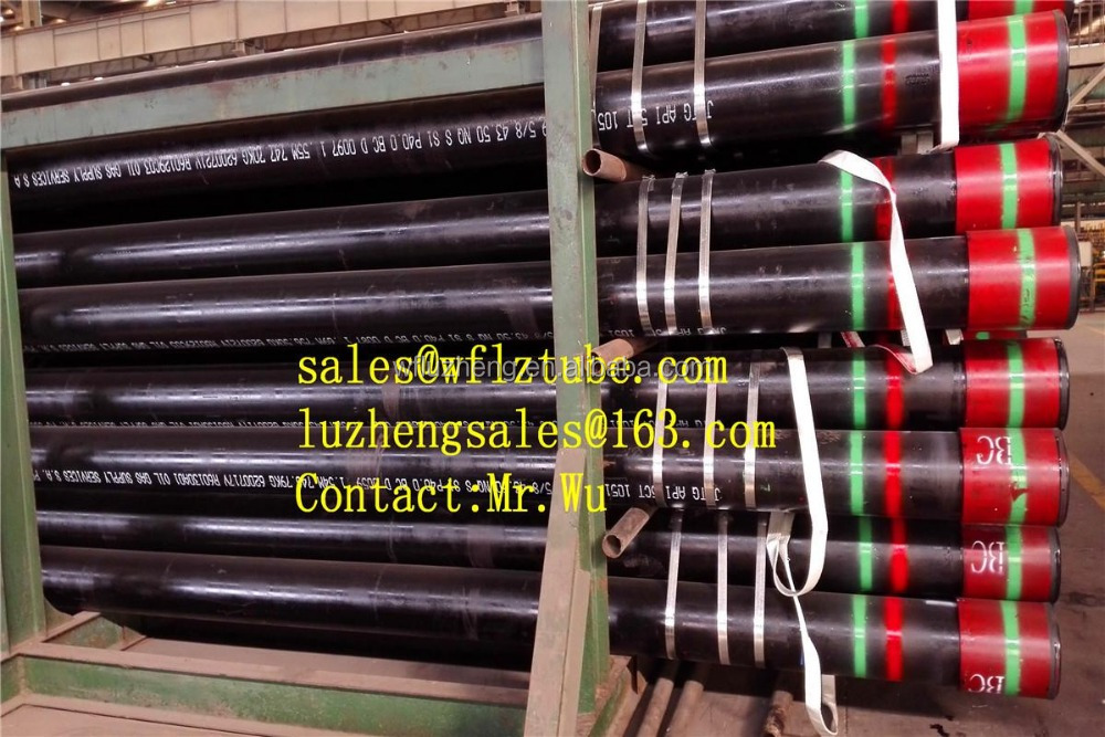 Casing pipe L80 13CR, API 5CT L80 BTC LTC tubing and casing pipe
