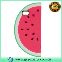 For iphone 4 4g 4S 3D watermelon fruit silicon case