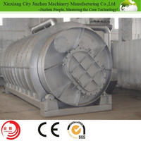 Jinzhen Professional Scrap Tyre Recycliing Plant Waste Plastic Pyrolysis Machine