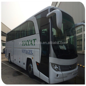 55 seater Diesel Foton AUV Coach Bus Right Hand Drive and Left Hand Drive