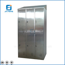 Six Door Stainless Steel Cupboard For Clothes