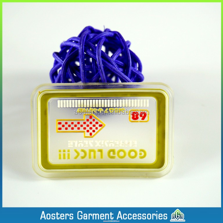 custom 3d patch transparent rubber label for clothing