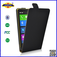 2014 New Product Magnetic Ultra Slim Leather Flip Case Cover for Nokia XL