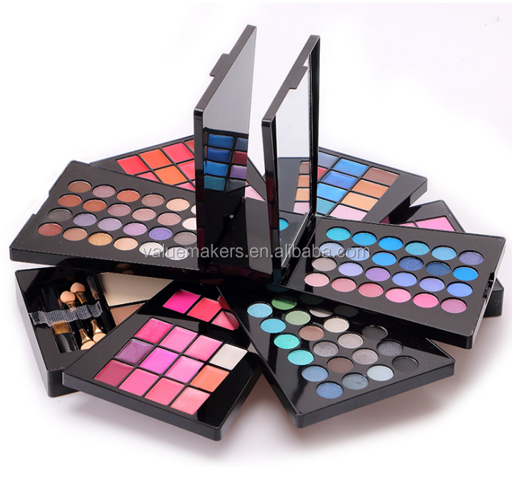 Wholesale Professional Make up eyeshadow palette 132color makeup mixing palette