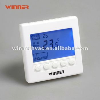 HVAC systems digital FCU 3 fan speed control room thermostat