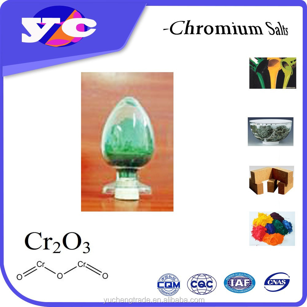 Food Additive pigment chrome oxide green factory 99.3%