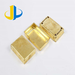 brass metal stamping cnc machining spare parts