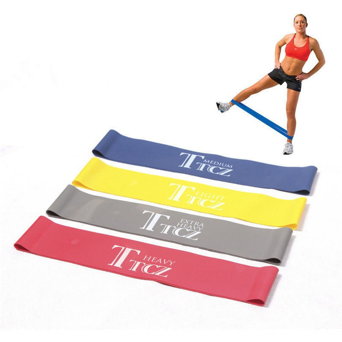 YOUME Elastic Band Tension Resistance Band Exercise Workout Ruber Loop Crossfit Strength Pilates Training Expander <strong>Fitness</strong>