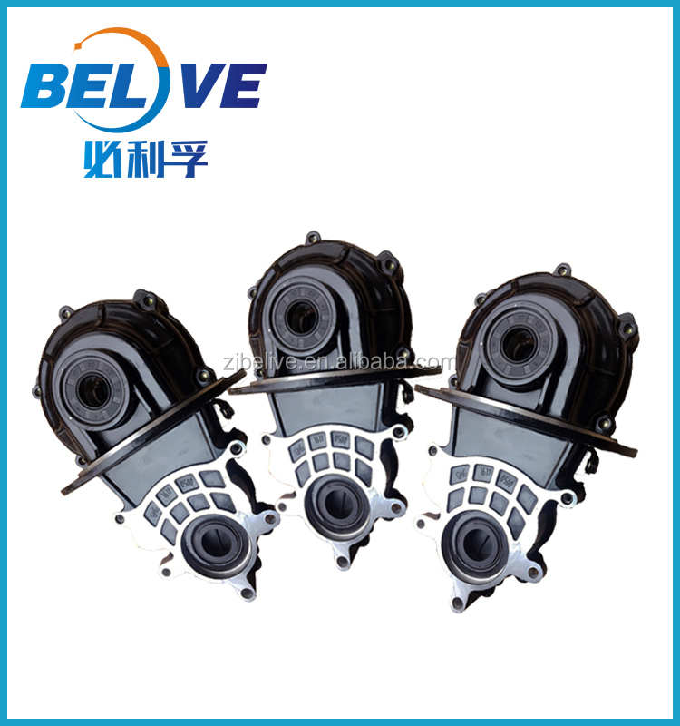 Factory direct sale electric tricycle gearbox rpm reducer rear axle differential variable speed gearbox