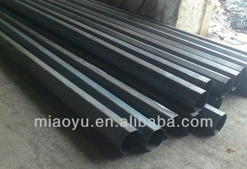 outdoor steel gate pole