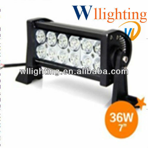High power 36W LED light bars/4x4 Offroad Working lamp WL8021-36
