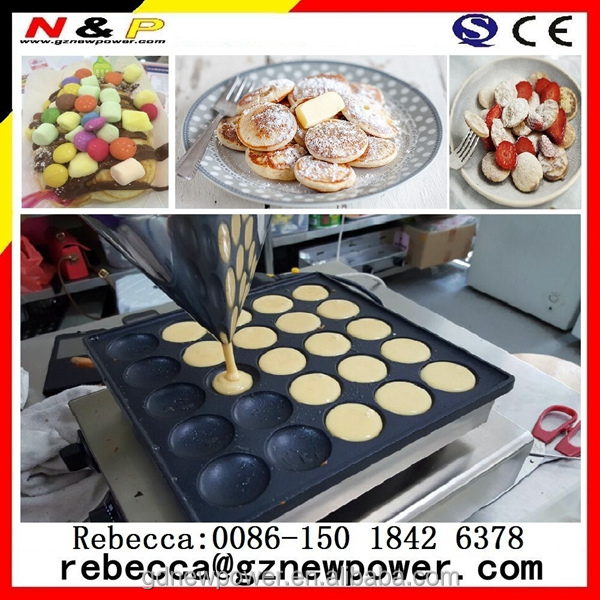 Chinese suppliers Cafe Series 50 hole Commercial Poffertjes Cooker
