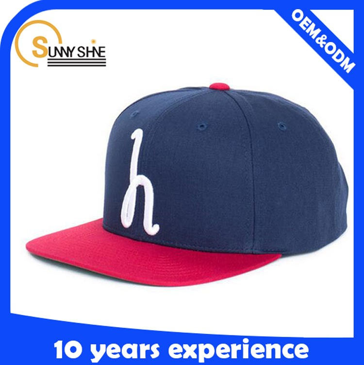 Top Quality 6 Panel 100% Cotton Young Snapback Hat And Cap Wholesale