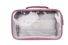 Red Hot Sale BUBM Ladies PVC Travel Daily Cosmetic Bag